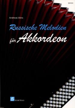 Russische Melodien Für Akkordeon Andreas Wins Partition laflutedepan