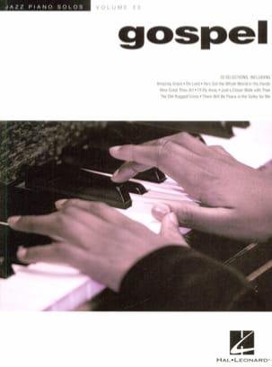 Jazz Piano Solos Series Volume 33 - Gospel Partition laflutedepan