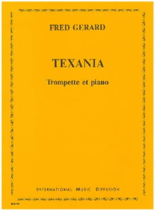 Texania - Fred Gerard - Partition - Trompette - laflutedepan.com