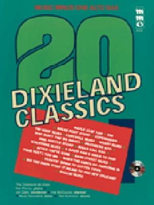 Twenty Dixieland Classics - Music Minus One Alto Sax - laflutedepan.com