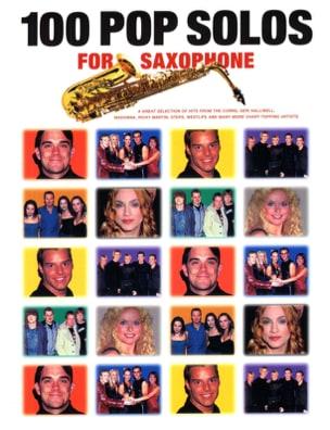 100 Pop Solos For Saxophone Partition Saxophone - laflutedepan