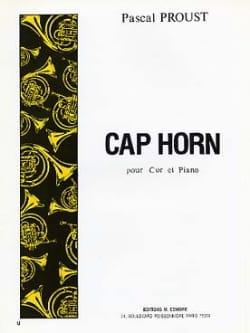 Cap horn Pascal Proust Partition Cor - laflutedepan