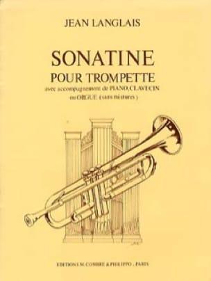 Sonatine - Jean Langlais - Partition - Trompette - laflutedepan.com