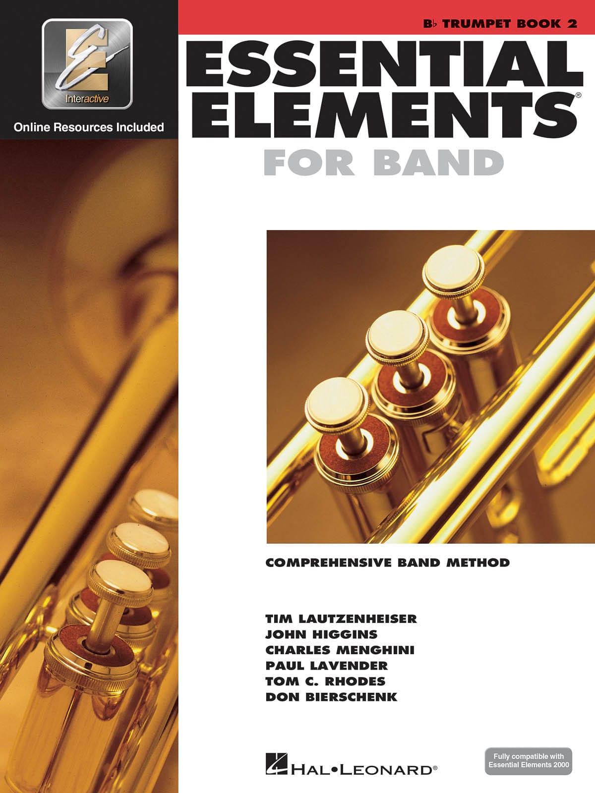 Essential Elements for Band - Book 2 - Trumpet - laflutedepan.com