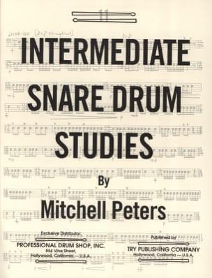 Intermediate Snare Drum Studies Mitchell Peters Partition laflutedepan