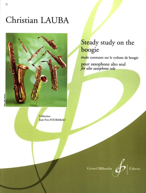 Steady Study On The Boogie - Christian Lauba - laflutedepan.com