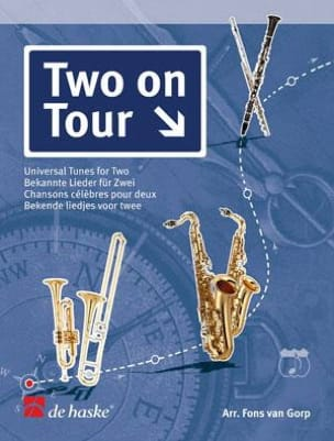 Two On Tour - Chansons Célèbres Pour Deux Partition laflutedepan
