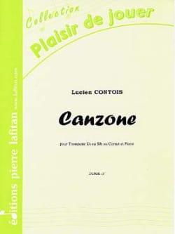 Canzone Lucien Contois Partition Trompette - laflutedepan