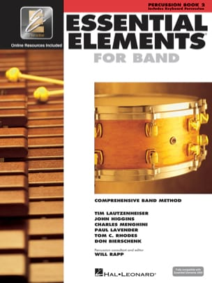 Essential Elements for Band - Book 2 - Percussion/Keyboard Percussion laflutedepan
