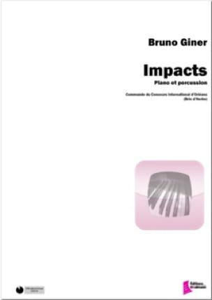 Impacts - Bruno Giner - Partition - laflutedepan.com