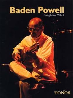 Songbook Volume 3 Baden Powell Partition Guitare - laflutedepan