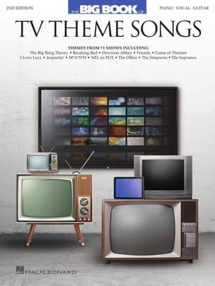 Big Book of TV Theme Songs - Partition - laflutedepan.com