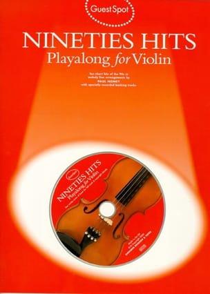 Guest Spot - Nineties Hits Playalong For Violin - laflutedepan.com