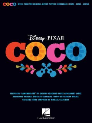 Coco - Musique du Film DISNEY / PIXAR Partition laflutedepan