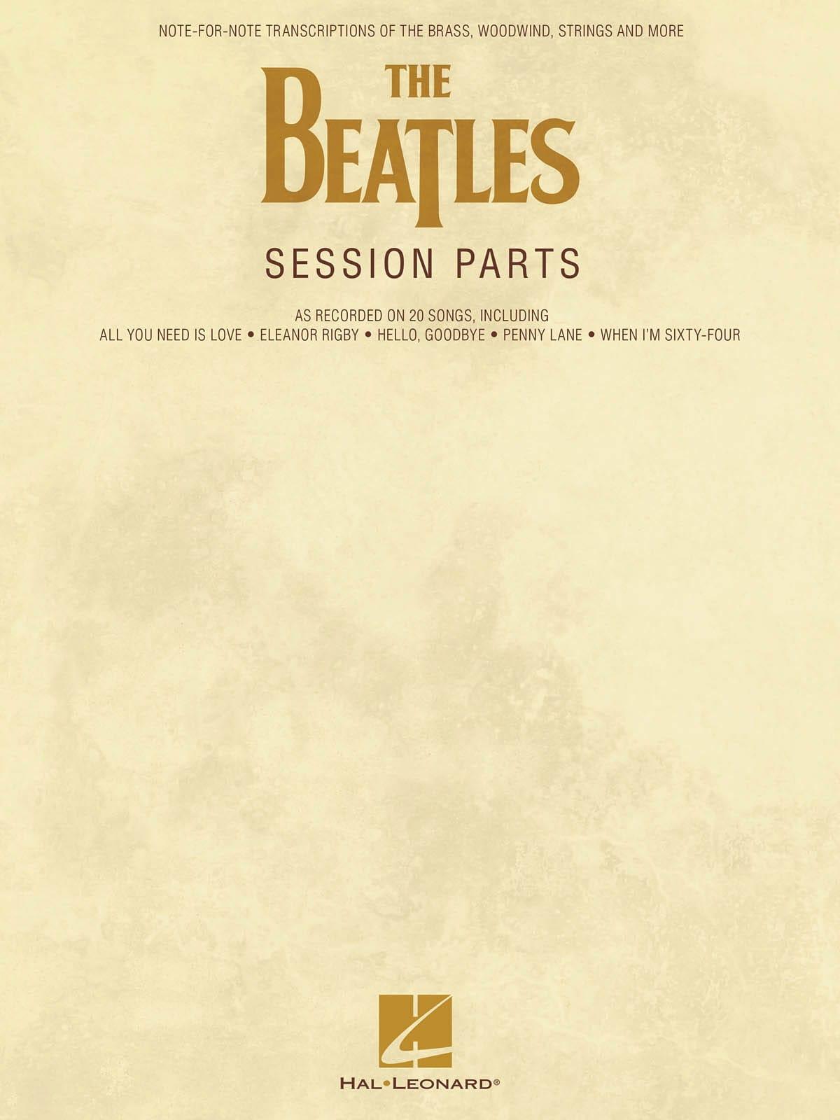 The Beatles Session Parts - BEATLES - Partition - laflutedepan.com