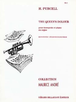 The Queen's Dolour PURCELL Partition Trompette - laflutedepan