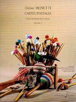 Cartes Postales Volume 1 Didier Benetti Partition laflutedepan