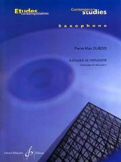 16 Etudes de Virtuosité Pierre-Max Dubois Partition laflutedepan
