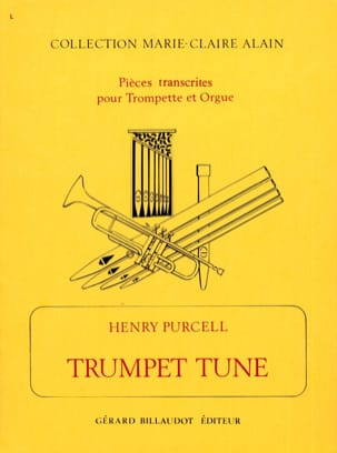 Trumpet Tune PURCELL Partition Trompette - laflutedepan
