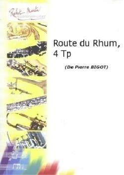Route du rhum Pierre Bigot Partition Trompette - laflutedepan