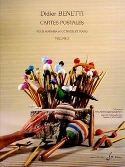 Cartes Postales Volume 2 Didier Benetti Partition laflutedepan
