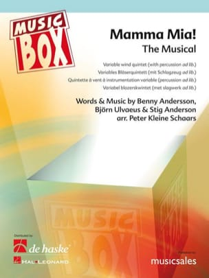 Mamma mia - music box laflutedepan