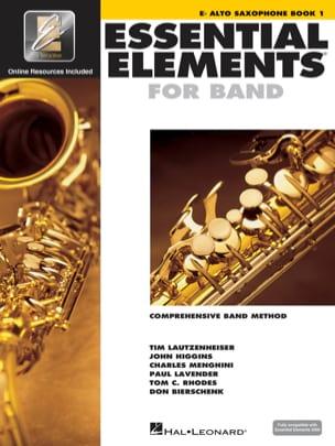 Essential Elements for Band - Book 1 - Alto Sax laflutedepan