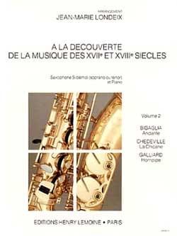 A La Découverte Volume 2 Partition Saxophone - laflutedepan