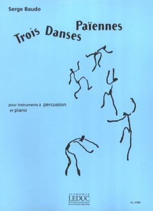 3 Danses Païennes Serge Baudo Partition laflutedepan