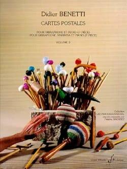 Cartes Postales Volume 3 Didier Benetti Partition laflutedepan