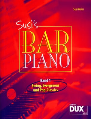 Susi's bar piano volume 1 Partition Jazz - laflutedepan