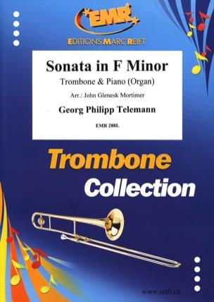 Sonata in F minor - Georg Ph Telemann - Partition - laflutedepan.com