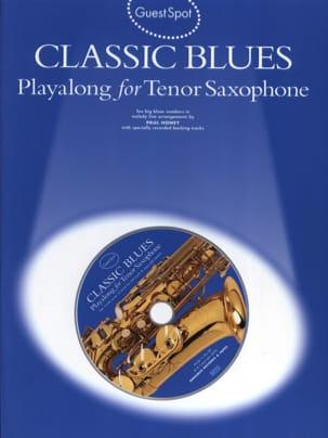 Guest Spot - Classic Blues Playalong For Saxophone Tenor laflutedepan