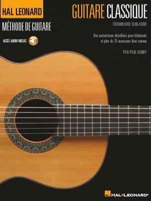 Guitare classique - Édition avec tablature Paul Henry laflutedepan