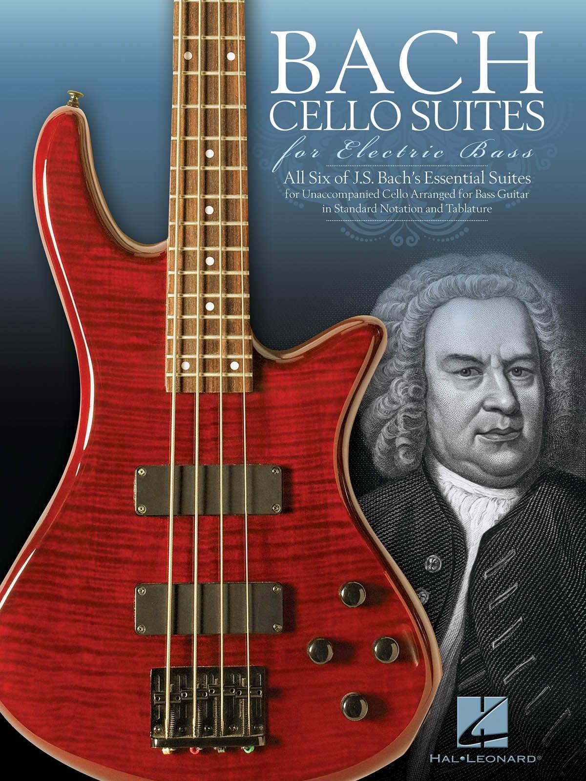 Bach Cello Suites for Electric Bass - BACH - laflutedepan.com