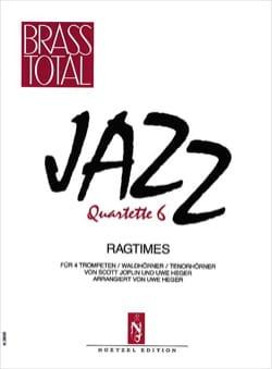 Jazz Quartette 6 - Ragtimes Partition Trompette - laflutedepan