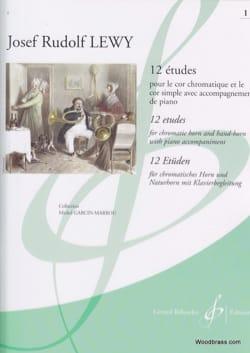 12 Etudes Pour le Cor Volume 1 Josef Rudolf Lewy laflutedepan