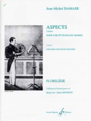 Aspects - Jean-Michel Damase - Partition - Cor - laflutedepan.com