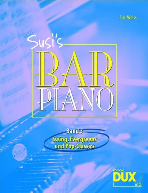 Susi's bar piano volume 3 - Partition - Jazz - laflutedepan.com