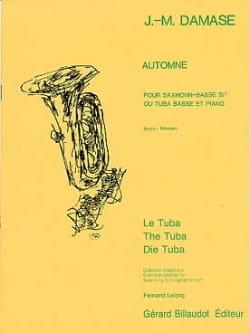Automne Jean-Michel Damase Partition Tuba - laflutedepan