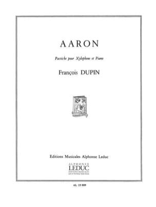 Aaron François Dupin Partition Xylophone - laflutedepan