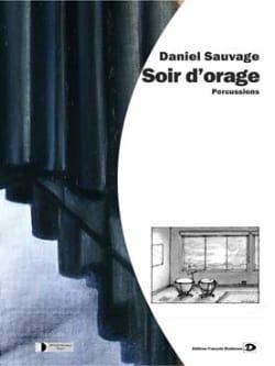 Soir D' Orage Daniel Sauvage Partition laflutedepan