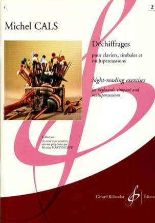 Déchiffrages Volume 2 Michel Cals Partition Xylophone - laflutedepan