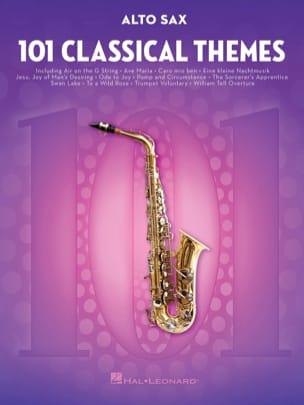 101 Classical Themes for Alto Sax Partition Saxophone - laflutedepan