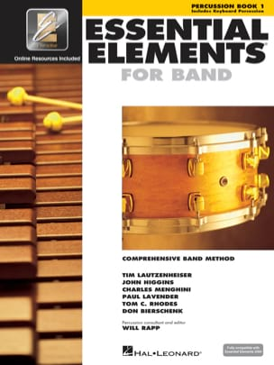 Essential Elements for Band - Book 1 - Percussion/ Keyboard percussion laflutedepan