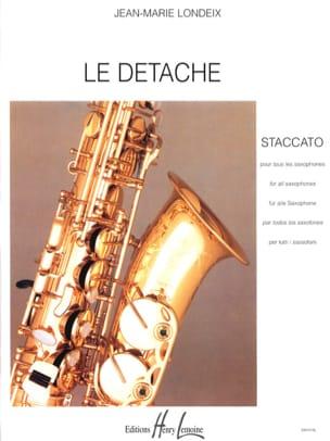 Détaché Londeix Partition Saxophone - laflutedepan