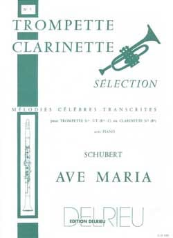 SCHUBERT - Ave Maria - Partition - di-arezzo.fr