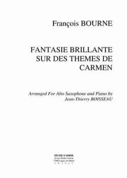 Fantaisie Brillante - Sur Des Thèmes de Carmen laflutedepan