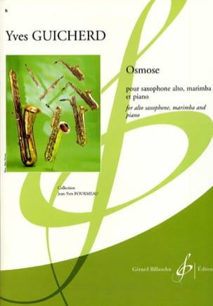 Osmose Yves Guicherd Partition Saxophone - laflutedepan