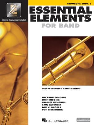 Essential Elements for Band - Book 1 - Trombone laflutedepan